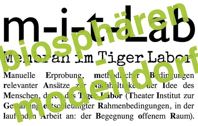 m-i-t-Labiosphaerenmodelldorf